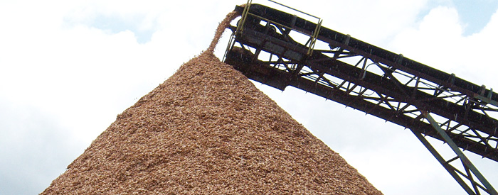 Manufactured Wood Chips